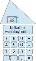 Kalkulator wentylacji online - obliczenia wentylacji online